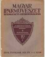 Magyar Iparművészet XXVII. évfolyam 1.-2. szám