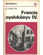 Francia nyelvkönyv IV.