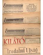 Északmagyarország; Kilátó; Szabad Ifjúság; Irodalmi Újság; (1956-os újságok!)