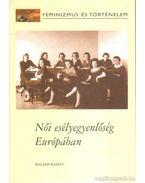 Női esélyegyenlőség Európában