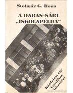 A Dabas-Sári iskolapélda (dedikált)