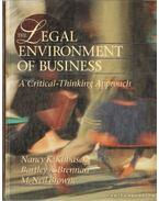 The Legal Environment of Business - Kubasek, Nancy K., Brennan, Bartley A., Browne, M. Neil