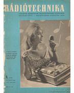 Rádiótechnika 1962. évf. (teljes!)