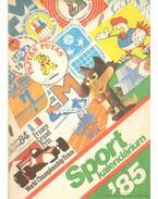 Sport kalendárium '85
