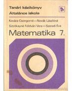 Matematika 7. -Kézikönyv a matematika 7. osztályos anyagának tanításához