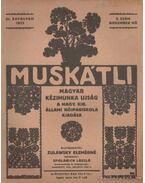 Muskátli 1933. 2. szám
