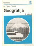 Geografija za II. razred gimnazije