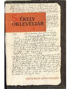 Székely oklevéltár I-II. kötet