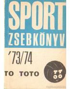 Sport zsebkönyv 73-74