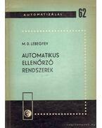 Automatikus ellenőrző rendszerek