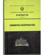 A magyar állami földtani intézet évkönyve LXIV. kötet - Dunántúli -középhegység