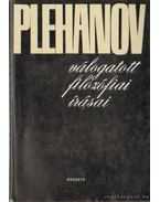 Plehanov válogatott filozófiai írásai - Plehanov