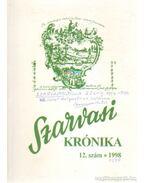 Szarvasi krónika 1998/12. szám (dedikált)