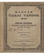 Magyar hazai vándor 1841.