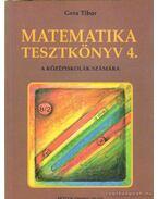 Matematika tesztkönyv 4.