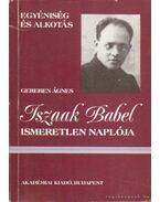 Iszaak Babel ismeretlen naplója
