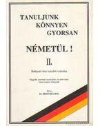 Tanuljunk könnyen gyorsan németül! II.