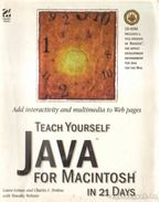 Teach Yourself Java for Macintosh in 21 Days