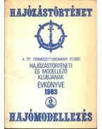 A TIT Természettudományi Stúdió hajózástörténeti és modellező klubjának évkönyve 1983.