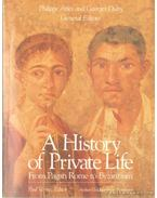 A History of Private Life I.