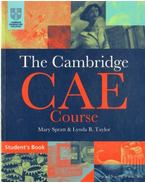 The Cambridge CAE Course