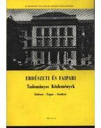 Erdészeti és faipari Tudományos közlemények 1981. év 2. sz.