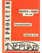 ½Kalocsa és vidéke 1918-1919 (dedikált)
