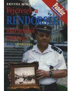Fejezetek a rendőrség történetéből 1944-ig (Pécs-Baranya)