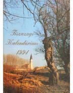Tiszazugi kalendárium 1994