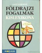 Földrajzi fogalmak kislexikona