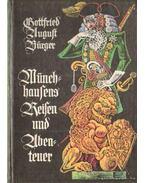 Münchausens reisen und Ubenteuer (német)