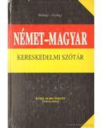 Német-magyar kereskedelmi szótár (1987)