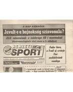 Nemzeti Sport 1992. Július (teljes)