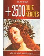 +2500 Quiz kérdés