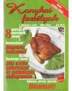 Konyhai fortélyok 1998. 3. szám