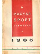 A Magyar Sport Évkönyve 1965