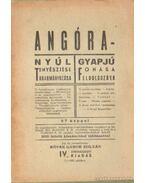 Angóra - Nyúl tenyésztése takarmányozása; Gyapjú fonása feldolgozása