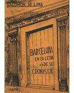 Barcelona en la letra de su cronista