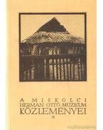 A Miskolci Herman Ottó Múzeum Közleményei 19.