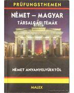 Német-magyar társalgási témák