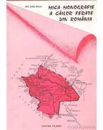 Mica monografie a cailor ferate din Romania (román)
