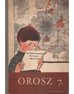 Orosz 7. - Orosz nyelvkönyv az általános iskolák 7. osztálya számára