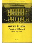Erdészeti és faipari Tudományos közlemények 1980. év 2. sz.