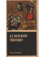 22 detektívtörténet II. kötet
