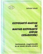 Eszperantó-magyar és magyar-eszperantó szótár (szójegyzék)
