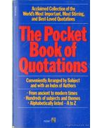 The Pocket Book of Quotations - Davidoff, Henry