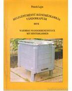Melegépítményű hátsómézkamrás vándorkaptár - Warmbau-Wanderbienenstock mit Hinterkammer