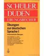 Übungen zur deutschen Sprache I