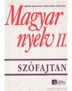 Magyar nyelv II. - Szófajtan
