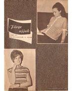 Fürge ujjak 1967. XI. évfolyam (hiányos)
